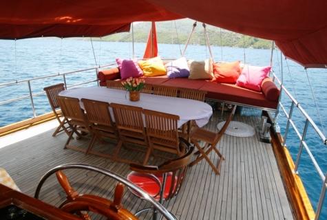 Yorgun 1 deck table