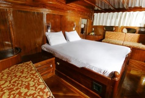Yorukoglu 2 gulet cabin