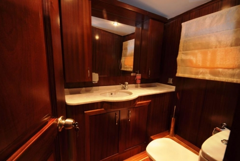 Yuce Bey cabin toilet