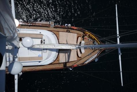 Yuce Bey gulet sails