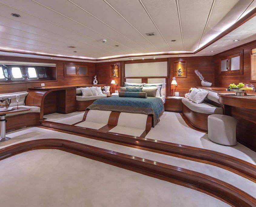 ALESSANDRO I Master cabin