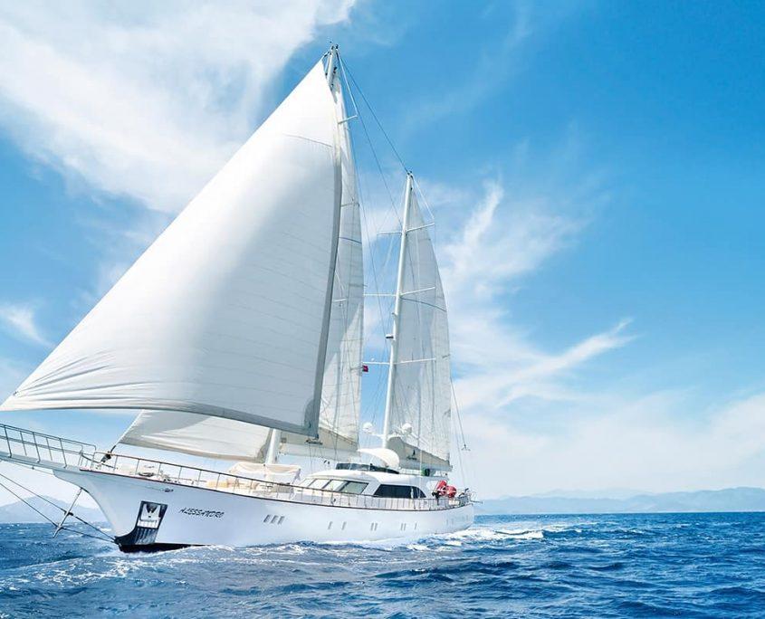 Alessandro sailing