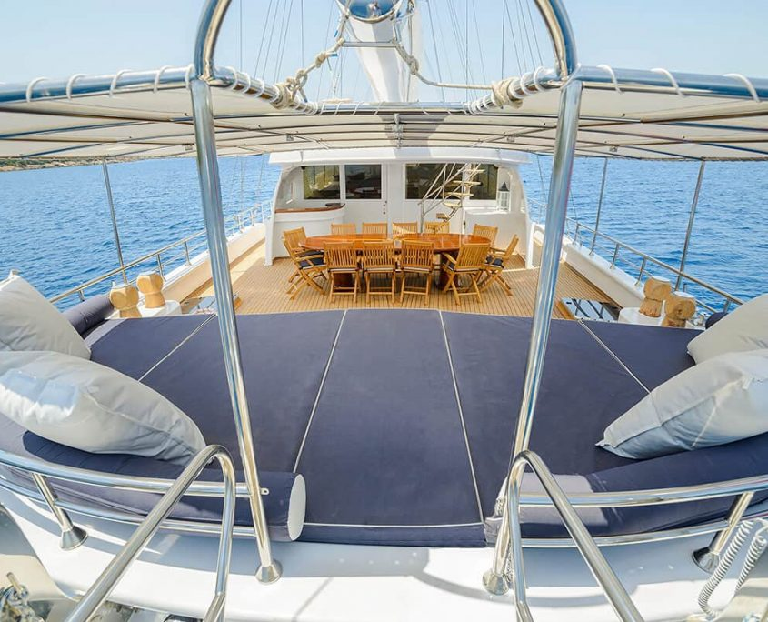 BELLA MARE Aft Deck From Passarela