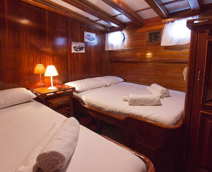 BLUE CRUISE Triple Cabin