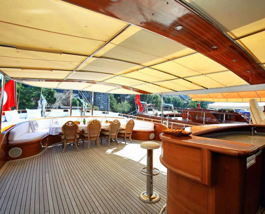 Back deck