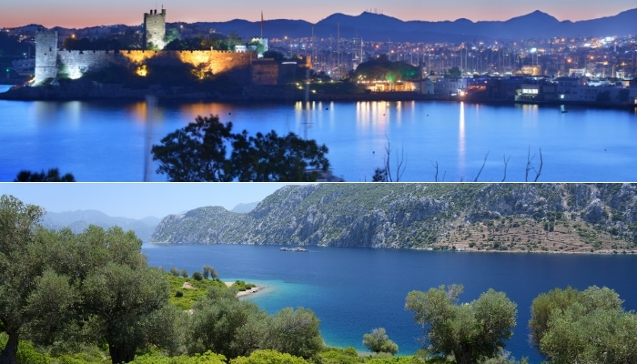 Bodrum Castle and Hisaronu Bay