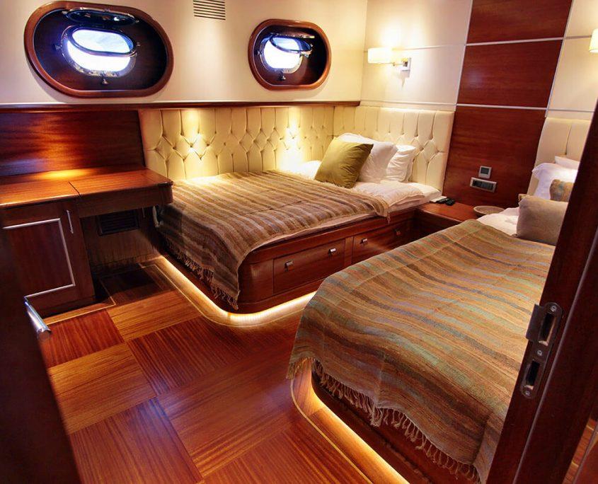 CARPE DIEM 5 Twin cabin