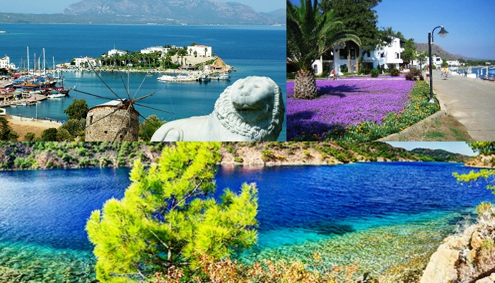 Datca Discover Aktur and BencikCollage