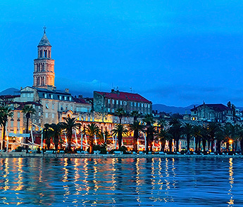 Split At Night, Croatia