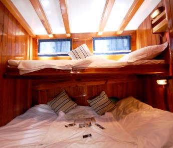 Flaka cabin charters cabin