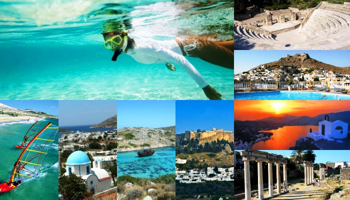 Greece islandCollage