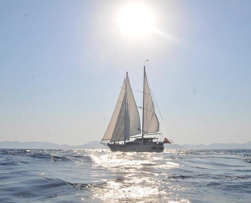 Gulet Kayhan 3 Sailing