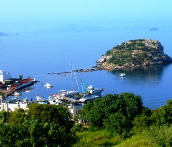 Gumusluk-Harbour-and-Rabbit-Island