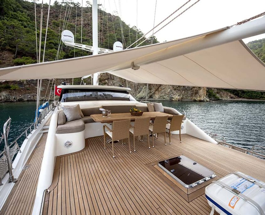 KAYHAN 3 Front deck