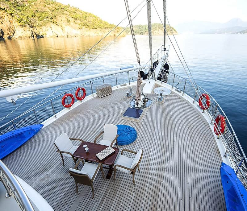 KAYHAN 4 Front deck