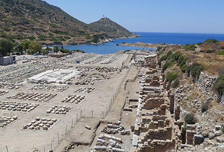 Knidos Antique harbor