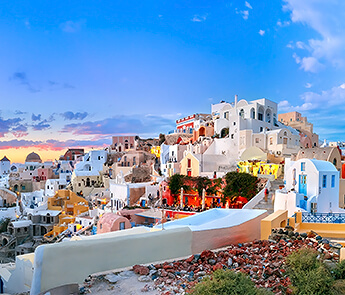 Old Town of Oia, Santorini