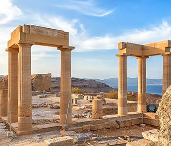 Ruins in Rodos