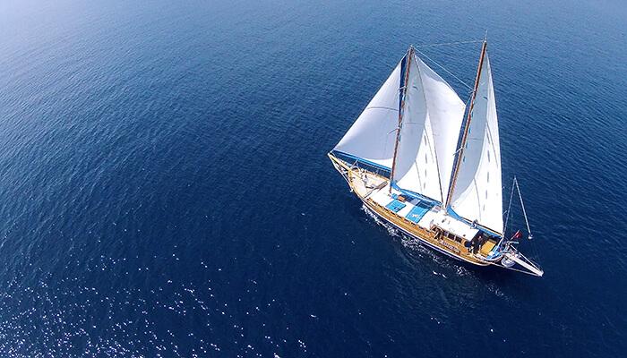 Sailing Gulet Yacht