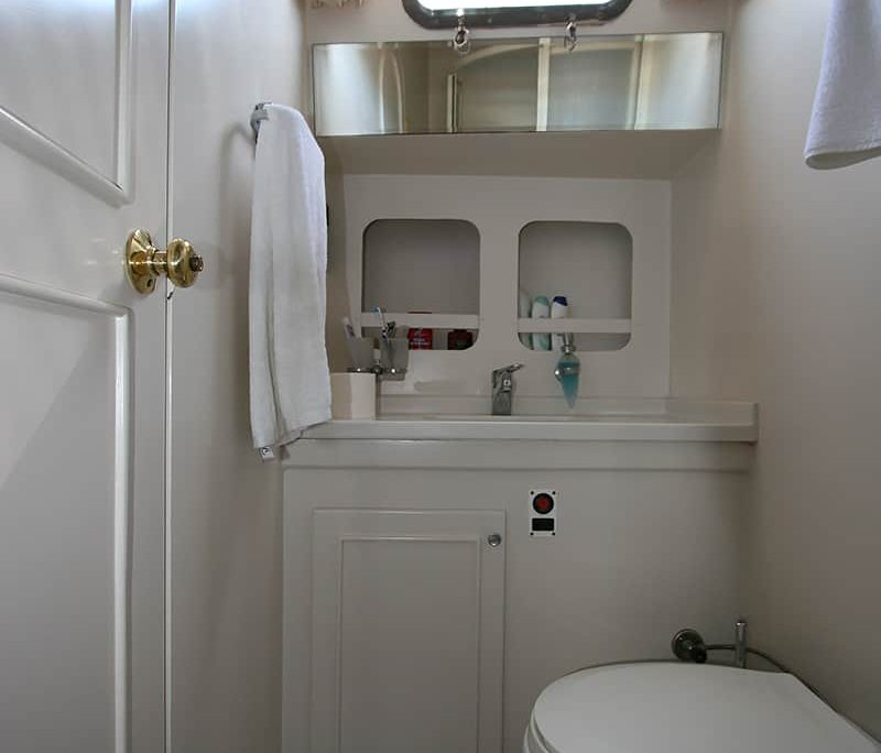 SERENITY 70 Double Cabin Bathroom