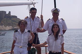 Gulet cruise crew