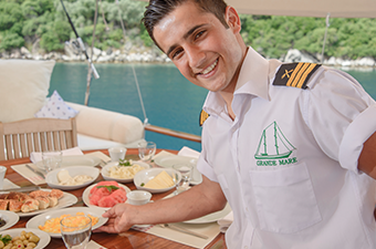 Service during the cruise