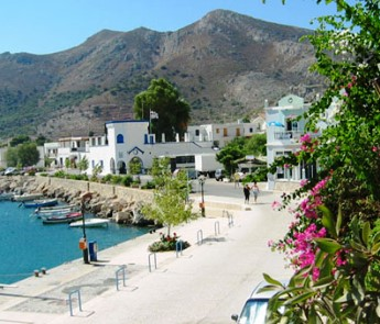 Village from Turkey Tilos