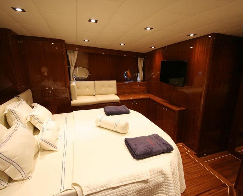 DIDI Master cabin in the back