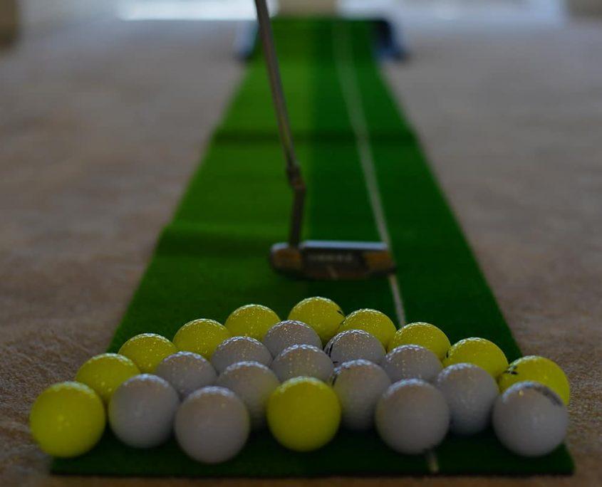 WHITE SOUL Mini golf
