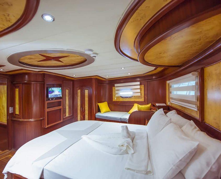 YUCE BEY 1 Master cabin