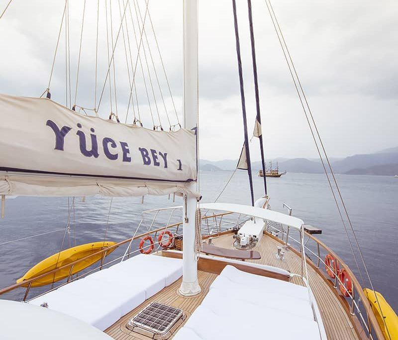 YUCE BEY 1 Sun deck
