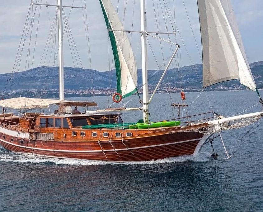ANNA MARIJA Sailing
