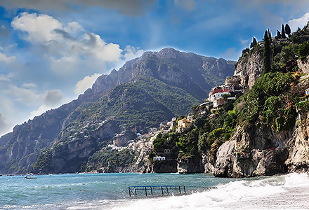 Beach & Hills of Amalfi