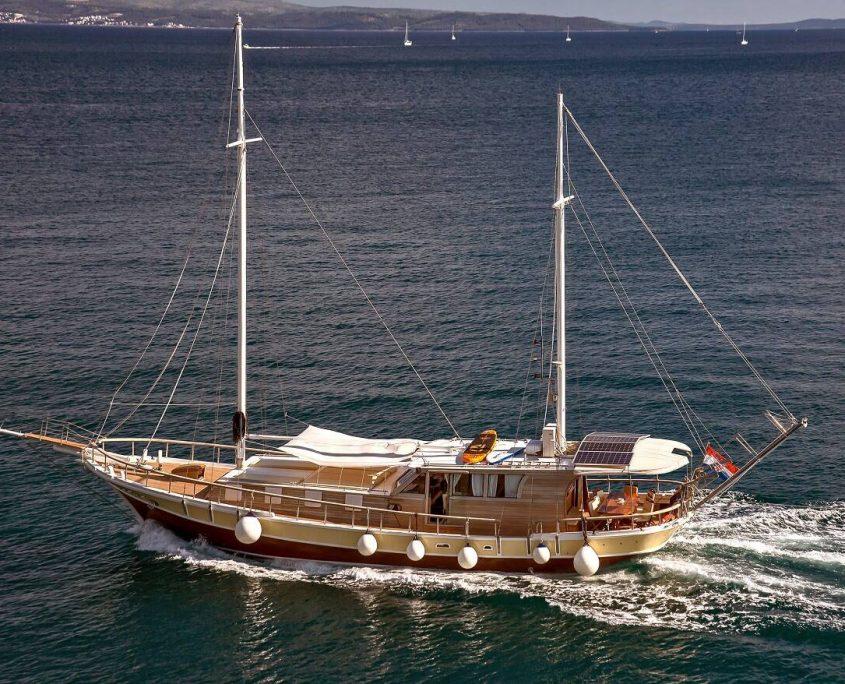 Cruising Crotia with Sedna