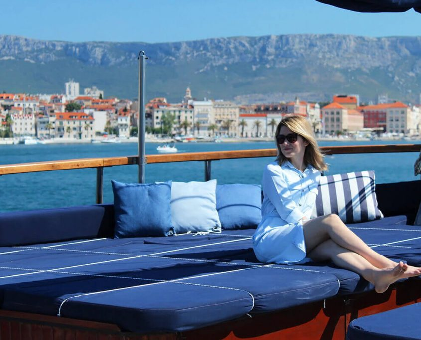 BARBA Enjoying the cruise