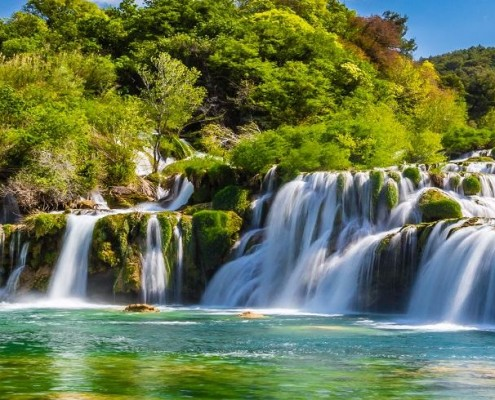 Explore the national park of Krka
