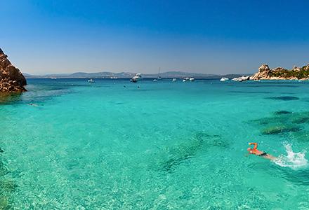 Archipelago in Sardinia