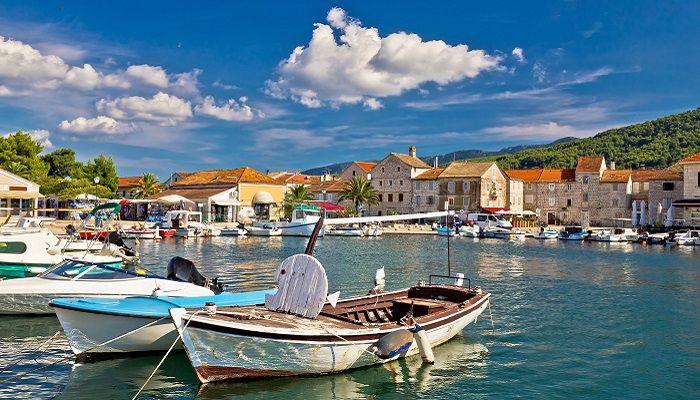 Stari Grad Hvar island in Croatia