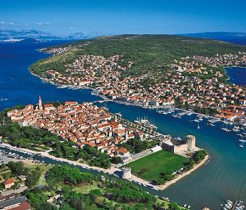 The city of Trogir