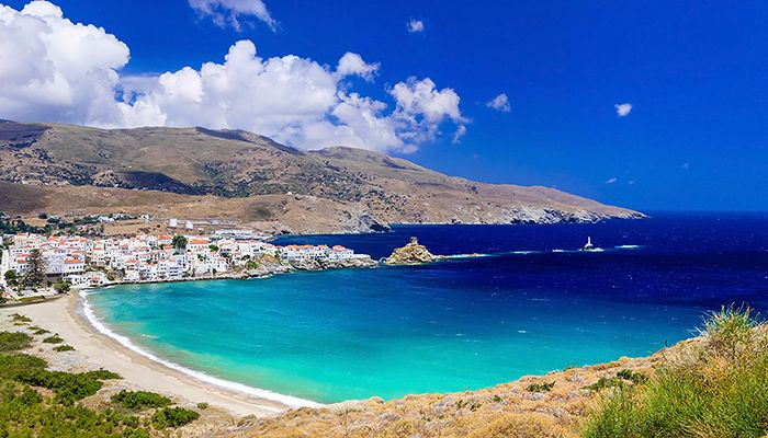 Beautiful beaches of Greece