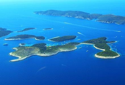 National park Elafiti islands
