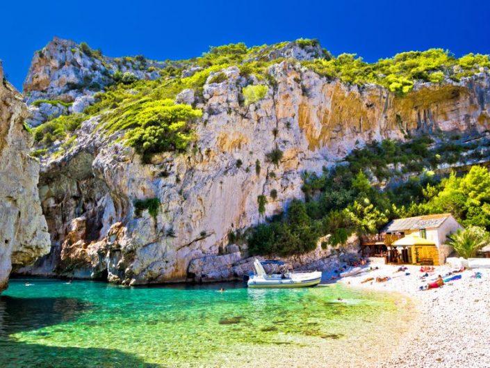 Amazing Stinva Beach Of Vis Island