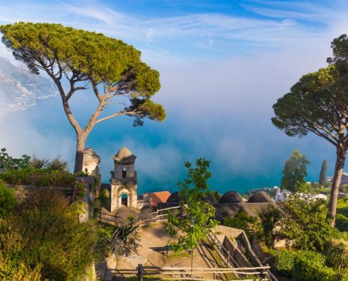 Amazing View From Villa Rufolo, Ravello Town, Amalfi Coast, Camp
