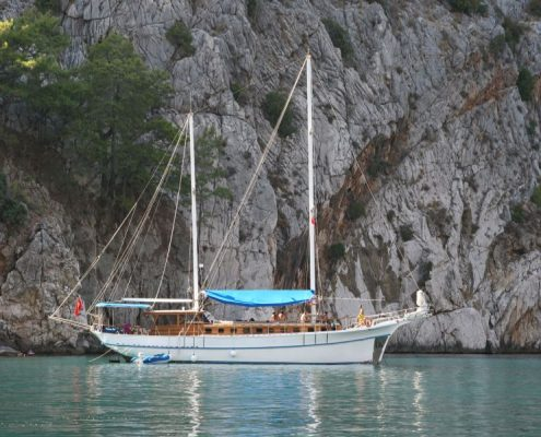 Gulet cruise around Kemer, Antalya