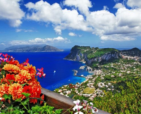 beautiful Capri island - Italian travel series