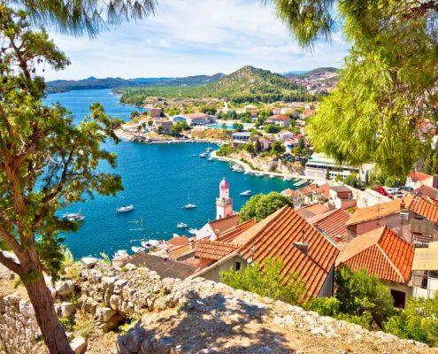 City Of Šibenik Coast View