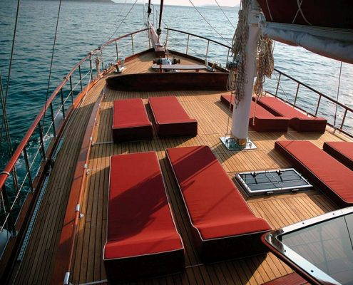 Gulet La Goleta - Front deck