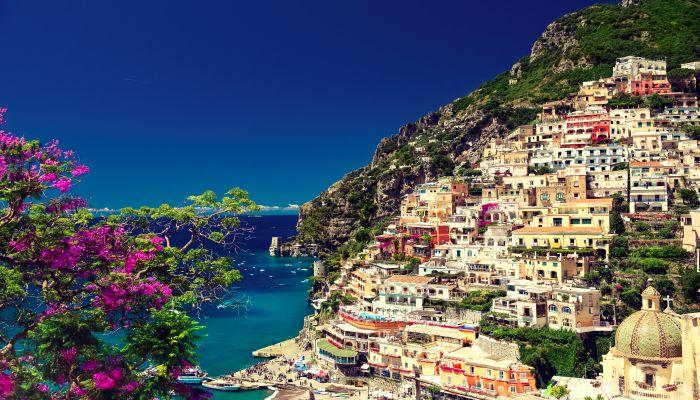 Italy , Amalfi coast , Positano