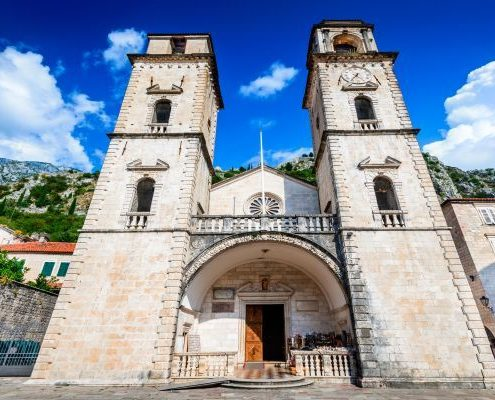 Kotor Montenegro - Cathedral of Saint Tryphon