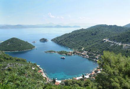 Prozura bay, Island Mljet, Croatia